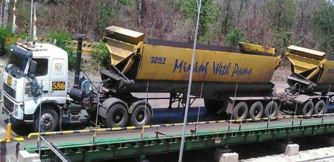 jembatan timbang tambang